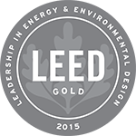 Logo: 2015 LEED Gold Certification